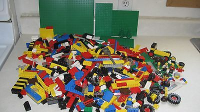 Large Mixed Lot Of Lego Mostly Older