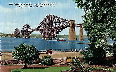 Forth Bridge, South Queensferry, West Lothian, Scotland. Uncirculated