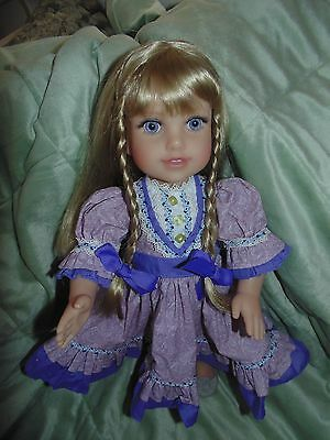 """Life of Faith 18"""" Doll Millie Keith Mission City Press Breezy Point Dressed RARE"""