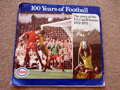 Vintage Esso 100 Years of Football, FA Cup Winners 1872-1972 coin collection