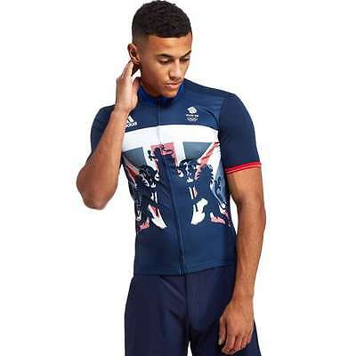 ADIDAS TEAM GB RIO 2016 CYCLING JERSEY  - Brand new with tags - Size Medium
