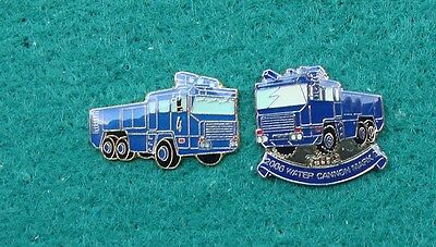 RUC Royal Ulster Constabulary Police WATER CANNON tie tac pin badges