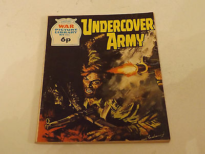 WAR PICTURE LIBRARY NO 815!,dated 1972!,GOOD for age,great 45! YEAR OLD issue.