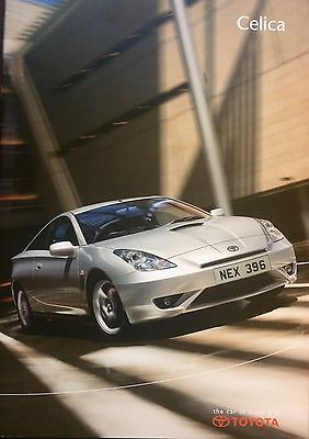 Toyota Celica Brochure 2003 inc Premium Style and T-Sport - MINT Condition