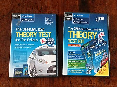 Official DVSA Car Theory Test DVD x2