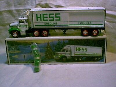 Vintage Toy Truck Bank with box,  1987