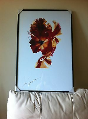 Joan Armatrading Promotional Limited Edition 'hearts & Flowers' Lithograph