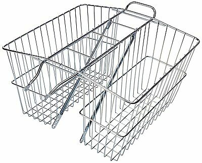 Wald 535 Rear Twin Bicycle Carrier Basket 18 x 7.5 x 12