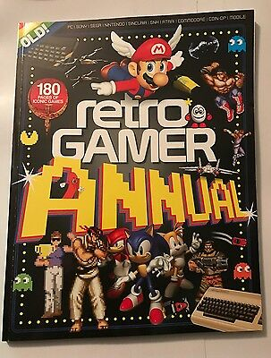 RETRO GAMER ANNUAL VOLUME 3 BOOKAZINE Brand New Unwanted Gift