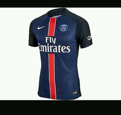 Brand new Men's PSG authentic 2015 Home shirt player issue