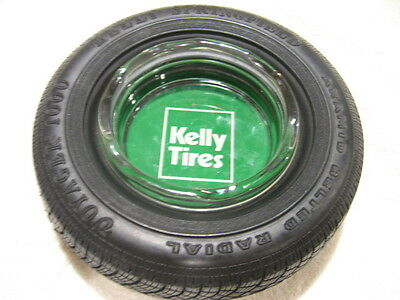 Vintage Advertising Kelly Tires Kelly Springfield Voyager 1000 Tire Ashtray