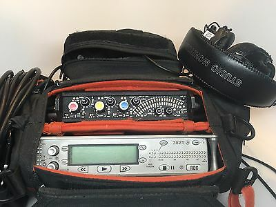 Sound Devices 702T Recorder and 302 Mixer Kit with TONS of accessories