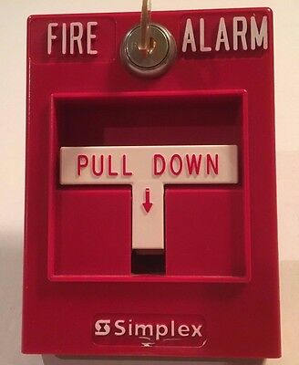 Simplex 2099-9754 Fire Alarm Pull Station - FREE SHIPPING