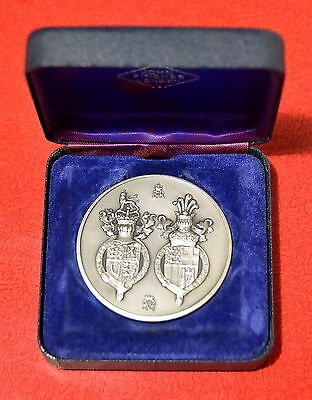 Solid Sterling Silver Medal Hallmarked, Sculpture By David Cornell