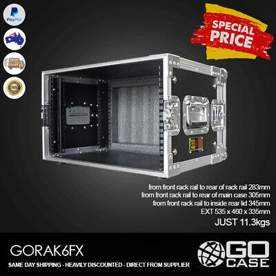 GORAK6FX ATA Road Case 6RU FX Rack Flight Case