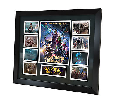 Guardians of the Galaxy Signed Photo Movie Memorabilia Limited Edition FRAMED