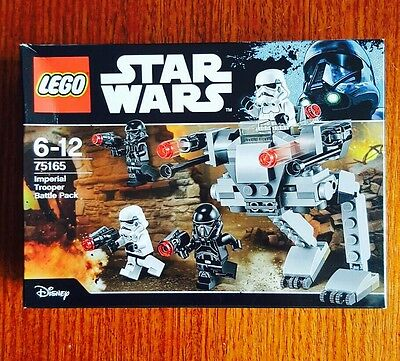 LEGO Star Wars 75165 - Imperial Trooper Battle Pack - Brand New Sealed