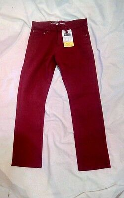 Levi Strauss & Co. Signature Skinny Red Denim Jeans Size 14 New With Tags