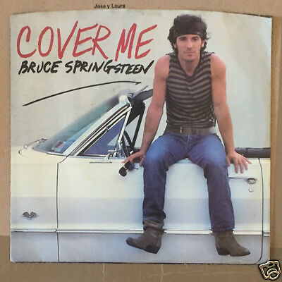 """Bruce Springsteen - Cover me  7"""" USA"""