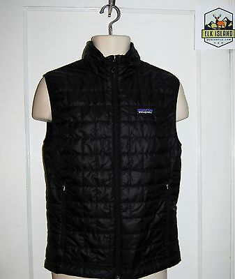 Patagonia Mens Nano Puff VEST sz S Skiing Hiking Climbing Casual $149 NWT SALE