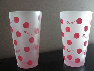 Las Vegas Flamingo Souvenir Glasses