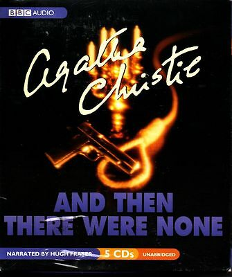And Then There Were None By Agatha Christie (2004, Cd, Unabridged) - New Sealed