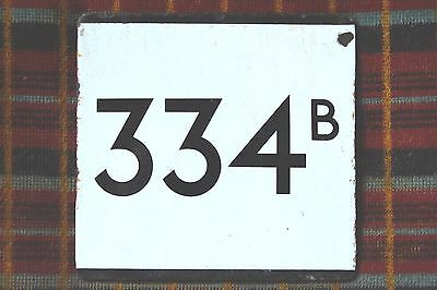 LONDON TRANSPORT COUNTRY AREA BUS STOP E-PLATE : ROUTE 334B. Hemel Hempstead