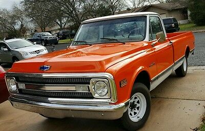 1970 Chevrolet C-10  gorgeous 1970 chevy truck
