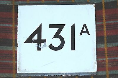 London Transport Country Area E-Plate : Route 431A