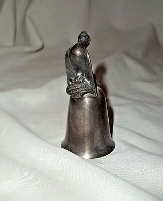 Reed & Barton Twelve Days Of Christmas Bell Calling Colly Bird Bell Silver Plate
