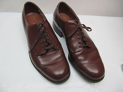 Ww2 Us Army Officer's Dress Shoes 1942 Mint Condition Johnsonian Guide Step