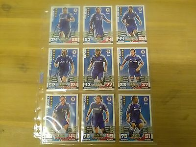 Signed Chelsea FC(Hand Signed MA Card Collection).