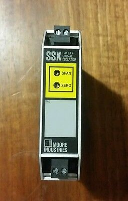 Moore Industries Safety Signal Isolator Ssx/ Functional Safety Series