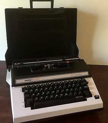 Vintage Brother Electric Typewriter - Cassette 3912 correction