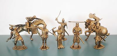 IDEAL Medieval Knights 70mm Toy Soldiers Recast - Various colors