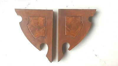 Two Antique Corbels Architectural Accent Pieces
