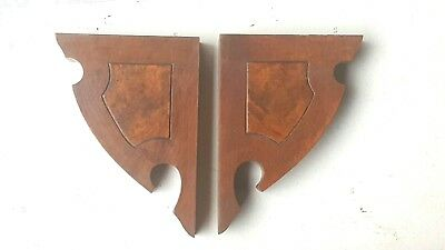 Vintage Corbels Entryway Mantel Mantles Brackets Shelves Architectural Accents