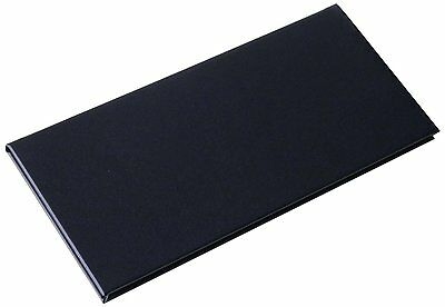 "4"" 3/4 X 11"" Inches Double View Menu Cover Sold By Case (Packed of 5 Pcs)"