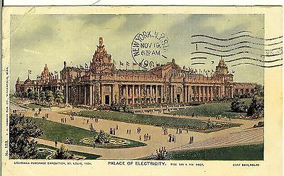 Louisiana Purchase Exposition, 1904, Palace of Electricity, St. Louis, Mo.