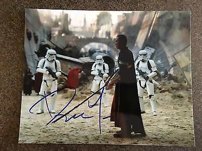 Donnie Yen Rouge one Star Wars hand signed