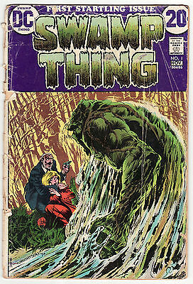 Swamp Thing Lot (1972) #1, 3, 4 Bernie Wrightson! Combine Shipping! See Scans!!!