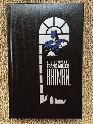New Complete Frank Miller Batman, 1989 First Print Leather Hardcover, NM to Mint