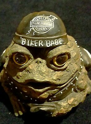 Toad Hollow Cycle Works Biker Babe Frog