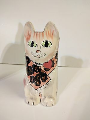 Susan Paley Cat Vase Sassy Heart Necklace By Ganz@