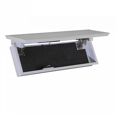 Quick Shelf Safe with RFID - White Home security Gun Safe
