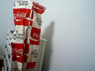 Vintage 1970S Coca-Cola Bell Bottom Beach Pants -Small Size