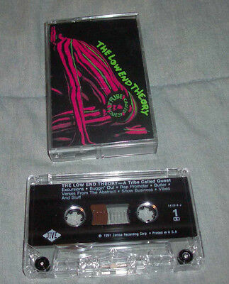 A Tribe Called Quest The Low End Theory Tape Phife Dawg Old School Rap Hip Hop