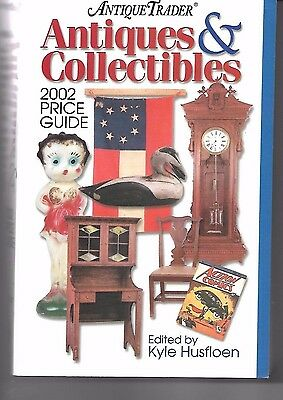 Antique Trader Antiques & Collectibles 2002 Price Guide USED VERY GOOD