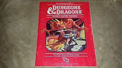 Dungeons & Dragons - Dungeon Masters Rulebook - TSR - 1983