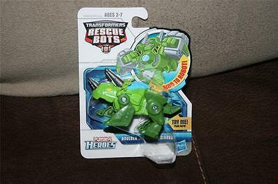 Transformers Rescue Bots Playskool Boulder The Rescue Dinobot Minty Fun